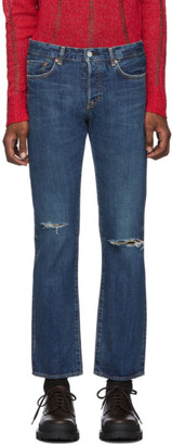 Moussy Blue Limeport Straight Jeans