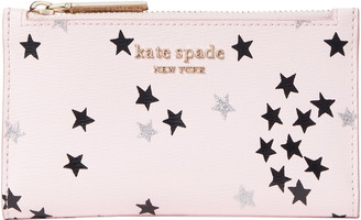 Kate Spade Spencer Confetti Stars Small Slim Bifold Wallet