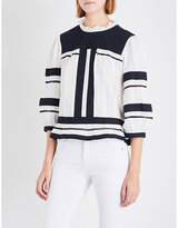 Etoile Isabel Marant Ritz cotton-gauze top