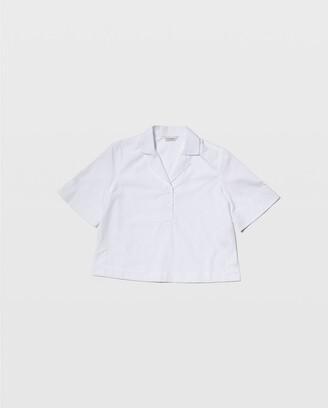 Club Monaco Cropped Collar Shirt