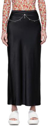 Collina Strada SSENSE Exclusive Black Charlie Engman Edition Pierced Yod Skirt