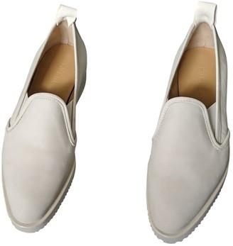 Everlane White Leather Flats