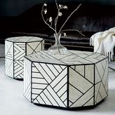 west elm Bone Inlaid Coffee Table