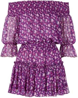 MISA Los Angeles Marisol Off-The-Shoulder Mini Dress