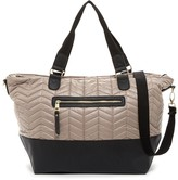 Madden-Girl Coriq Quilted Weekend Bag