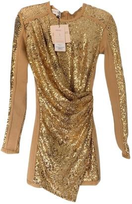 House Of CB Gold Glitter Dress for Women