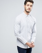 Jack Wills Wadsworth Regular Fit Oxford Shirt in Gray