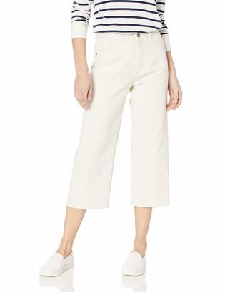 DL1961 Women's Hepburn Crop: HIGH Rise Wide Leg