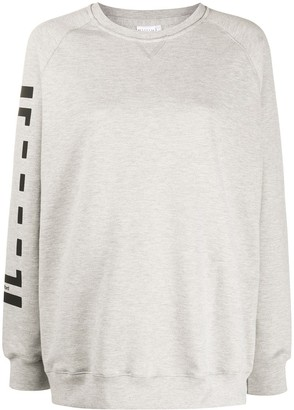 Wolford Logo Print Sweater