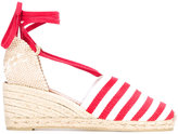 Castaner wedge espadrille sandals - women - Cotton/Leather/rubber - 35