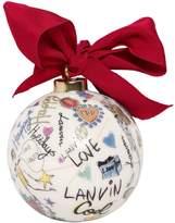 Lanvin Boule De Noel En Porcelaine