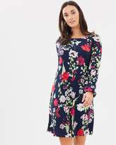 Wallis Petal Oriental Swing Dress