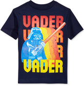 Star Wars Vader Print Cotton T-Shirt, Toddler & Little Boys (2T-7)