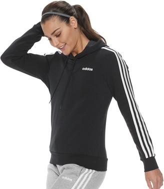 adidas Women's 3-Stripe Fleece Hoodie
