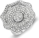 DazzlingRock Collection 2.15 Carat (ctw) 14k White Gold Round Diamond Ladies Cocktail Ring (Size 8)