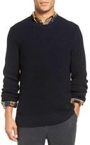 Vince Men's Rib Knit Cotton Pullover