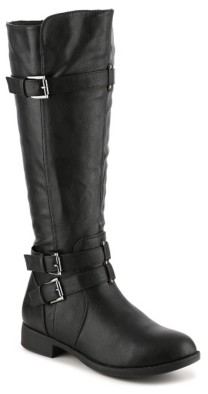 Journee Collection Bite Riding Boot