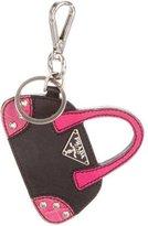 Prada Saffiano Bauletto Bag Charm