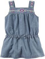 Carter's Baby Girl Embroidered Chambray Tunic