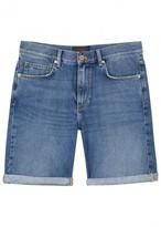 J.lindeberg Blue Denim Shorts
