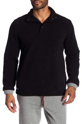 NATIVE YOUTH Funnel Neck Fleece Sweater
