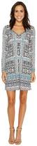 Hale Bob Ripple Effect Microfiber Dress Women's Dress