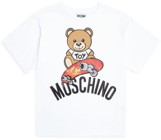 Moschino Kids Skateboard Bear T-Shirt