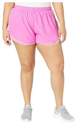 Nike Dry Tempo 3 Running Short (Size 1X-3X) (Fire Pink/Magic Flamingo/Wolf Grey) Women's Shorts