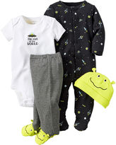 Carter's 4-pc. Space Layette Set - Baby Boys newborn-24m