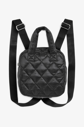 Monki Mini quilted backpack