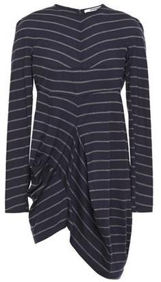Chalayan Draped Striped Wool-jersey Top