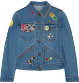 Marc Jacobs Embellished Denim Jacket - Mid denim