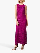 Thumbnail for your product : Phase Eight Bessie Lace Maxi Dress, Fuchsia