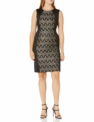 R & M Richards R&M Richards Women's one Piece Front Laced Hour Glass Dress