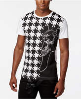 Versace Men's Houndstooth-Print T-Shirt