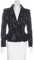 Giorgio Armani Swarovski-Crystal Evening Jacket