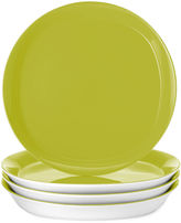 Rachael Ray Round & Square Set of 4 Dinner Plates
