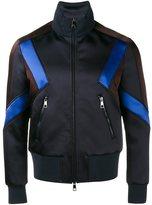 Neil Barrett panelled sport jacket