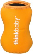 Thinkbaby Limestone Thermal Bottle Sleeve - Orange