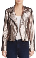 Blank NYC BLANKNYC Metallic Faux Leather Moto Jacket - 100% Exclusive