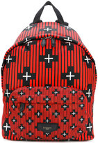 Givenchy cross patterned backpack