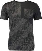 Asics Liteshow Print Tshirt Performance Black