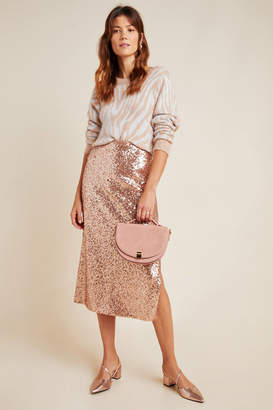 Sunday In Brooklyn Cipriana Sequined Midi Skirt