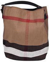 Burberry Large Check Shoulder Bag