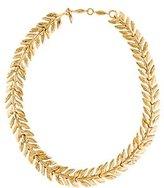 Aurelie Bidermann Bay Leaf Collar Necklace