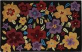 Nourison Floral Burst Hand-Hooked Rectangular Rug