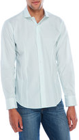 Bogosse Light Blue Dotted Sport Shirt