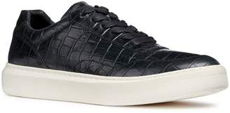 Geox Deiven 8 Croc Textured Low Top Sneaker (Men)