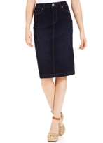 Style&Co. Style & Co Style & Co Petite Denim Skirt, Rinse Wash, Created for Macy's