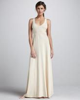 L Space Swimwear by Monica Wise Jenny Cutout-Back Maxi Dress